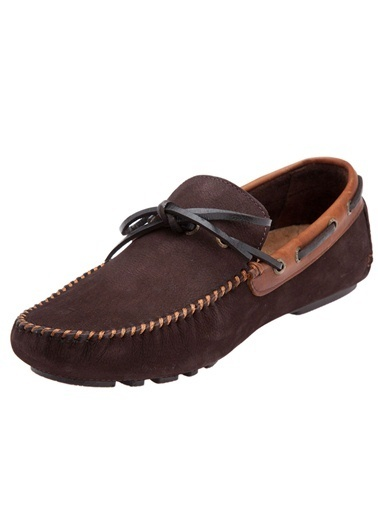 Loafer Nubuk Ayakkabı-Hush Puppies